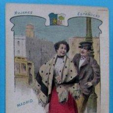 Postales: MUJERES ESPAÑOLAS. MADRID, Nº 29. EDITORIAL SATURNINO CALLEJA. ANTERIOR A 1906.. Lote 107977799