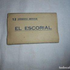 Postales: EL ESCORIAL 12 FOTOGRAFIAS ARTISTICAS . Lote 108409171