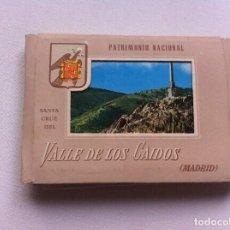 Postkarten - BLOC DE 18 POSTALES ACORDEÓN (VALLE DE LOS CAÍDOS, MADRID) MEDIDAS: 10 x 7,5cm PATRIMONIO NACIONAL. - 108512643