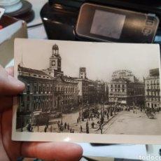 Postales: ANTIGUA POSTAL FOTOGRÁFICA MADRID PUERTA DEL SOL. Lote 108731019