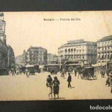 Postales: POSTAL MADRID. PUERTA DEL SOL. . Lote 109241043