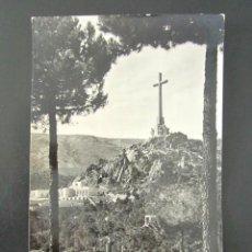 Postales: POSTAL MADRID. ABADIA DE SANTA CRUZ DEL VALLE DE LOS CAIDOS. ENTRADA A LA BASÍLICA. . Lote 109243875