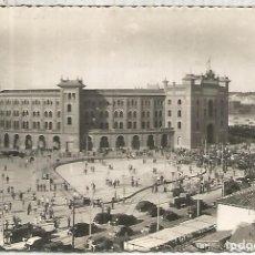 Postales: MADRID ESCRITA PLAZA DE TOROS. Lote 109447627