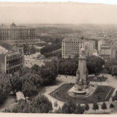 Postales: MADRID.- PLAZA DE ESPAÑA, SIN CIRCULAR. FTO.HELIOTIPIA ARTISTICA, JMOLINA1946. Lote 110219999