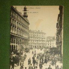 Postales: POSTAL - ESPAÑA - MADRID - 85.- CALLE DE SEVILLA - H.M.M - HAUSER Y MENET - NE - NC. Lote 110921855