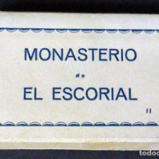 Postales: 20 MINI POSTALES MONASTERIO EL ESCORIAL II PASCUAL ACORDEÓN DESPLEGABLE SIN CIRCULAR 7 CM X 4,5 CM. Lote 111023139
