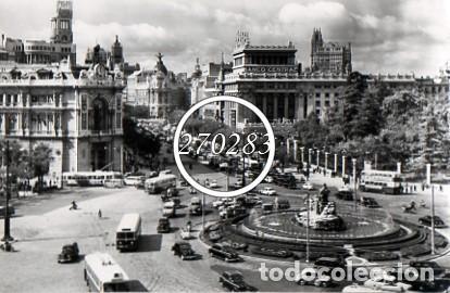 MADRID Nº B) 1 PLAZA DE LA CIBELES - CIMER - SIN CIRCULAR (Postales - España - Madrid Moderna (desde 1940))