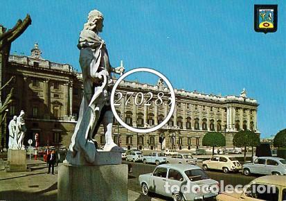 MADRID Nº 40 PLAZA DE ORIENTE PALACIO REAL - DOMINGUEZ - CIRCULADA CON SELLO - AÑO 1967 (Postales - España - Madrid Moderna (desde 1940))