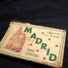 Postales: MADRID 1938. ALBUM ACORDEON 40 POSTALES ANTIGUAS. Lote 111553151