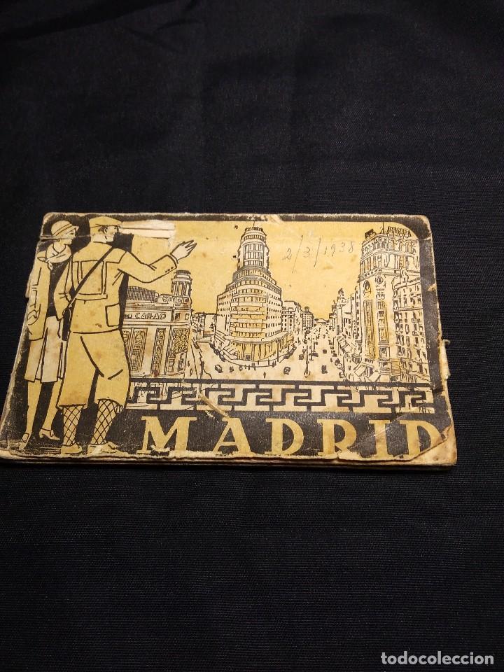 MADRID 1938. ALBUM ACORDEON POSTALES ANTIGUAS (Postales - España - Comunidad de Madrid Antigua (hasta 1939))