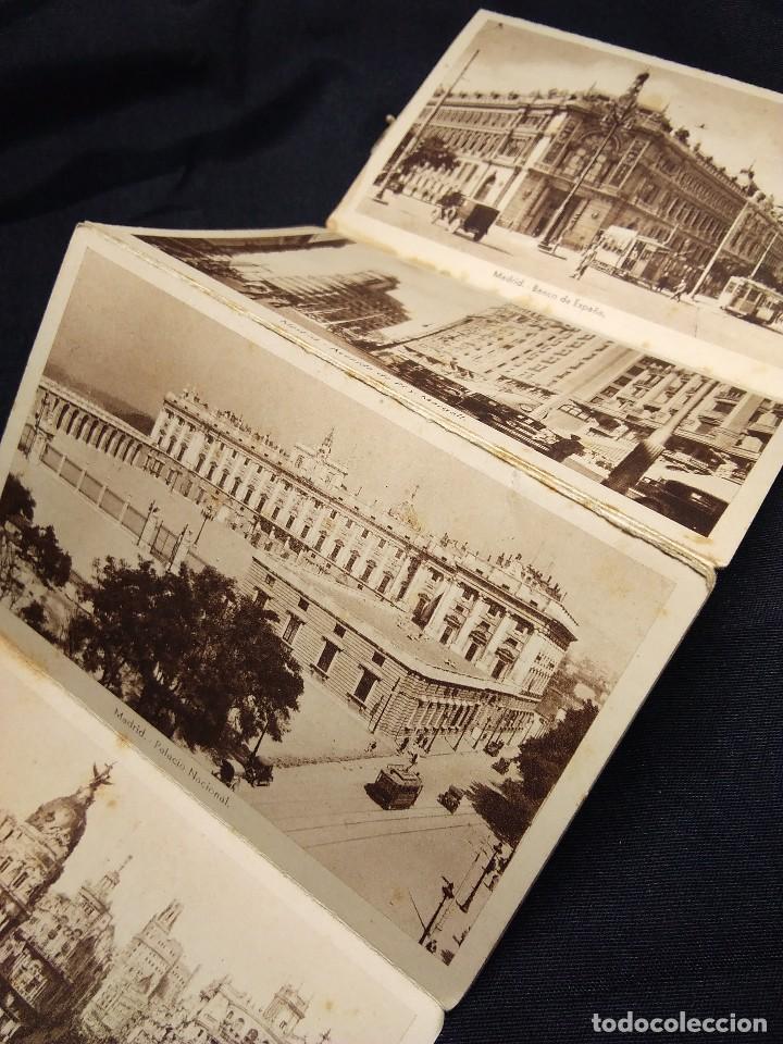 Postales: MADRID 1938. ALBUM ACORDEON POSTALES ANTIGUAS - Foto 2 - 111554187