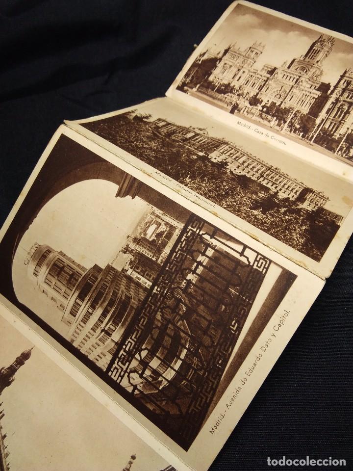 Postales: MADRID 1938. ALBUM ACORDEON POSTALES ANTIGUAS - Foto 4 - 111554187