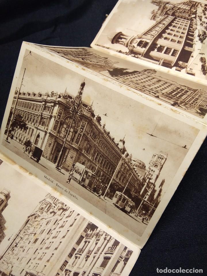 Postales: MADRID 1938. ALBUM ACORDEON POSTALES ANTIGUAS - Foto 5 - 111554187