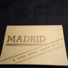 Postales: MADRID. ALBUM ACORDEON 10 POSTALES. Lote 111555083