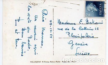 Postales: MUSEO DEL PRADO PRINCIPE BALTASAR CARLOS - CIRCULADA CON SELLO RAMON Y CAJAL 1119 EDIFIL -VER FOTO - Foto 2 - 111909271