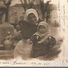 Postales: POSTAL 9 X 14 CTMS. CIRCULADA CON SELLO MADRID 17 / 10 / 1901. Lote 112265999