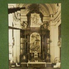 Postales: POSTAL - ESPAÑA - MADRID - 0224 ALTAR MAYOR DEL COVENTO DE LAS DESCALZAS REALES - LOTY 12,5 X 8 CM.. Lote 112286371