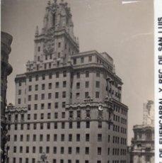 Postales: MADRID.- TELEFONICA DE ESPAÑA, SIN CIRCULAR.FTO. F. MOLINA,JMOLINA1946. Lote 112300879