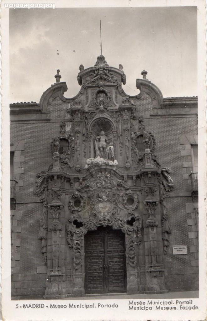 MADRID.- MUSEO MUNICIPAL, SIN CIRCULAR. FTO GARCIA GARRABELLA,JMOLINA1946 (Postales - España - Comunidad de Madrid Antigua (hasta 1939))