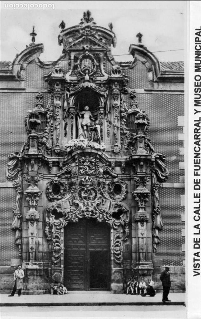 MADRID.- MUSEO MUNICIPAL, SIN CIRCULAR. FTO. HELIOTIPIA ARTISTICA, JMOLINA (Postales - España - Comunidad de Madrid Antigua (hasta 1939))
