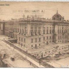 Postales: MADRID PALACIO REAL ESCRITA. Lote 112423959