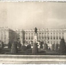 Postales: MADRID PALACIO REAL ESCRITA. Lote 112424231