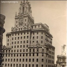 Postales: MADRID.-TELEFONICA, CIRCULADA 1950. FTO. F. MOLINA, JMOLINA1946. Lote 112300215