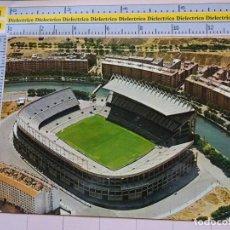 Postales: POSTAL DE MADRID. AÑO 1970. ESTADIO FÚTBOL DEL MANZANARES. VICENTE CALDERÓN. ATLÉTICO DE MADRID. 358. Lote 112712803