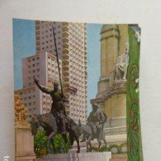 Postales: MADRID. Nº 117. GARCIA GARRABELLA. DORSO RESTAURANTE EL BULEVAR. Lote 112897787