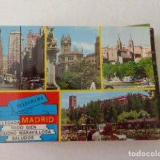 Postales: MADRID. Nº 138. GALLEGOS. ESCRITA Y CIRCULADA. Lote 112898447
