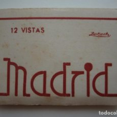 Postales: MADRID. TIRA DE 12 POSTALES, DESPLEGABLE. 12 VISTAS. FOTÓGRAFO A. ZERKOWITZ. BARCELONA.. Lote 112946403