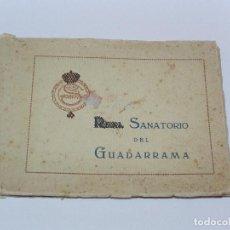 Postales: ** ALBUM DE POSTALES SANATORIO GUADARRAMA . MADRID **. Lote 112989687