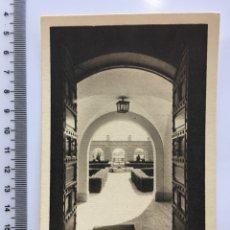 Postales: POSTAL. ESC. DE CAPACITACIÓN SOCIAL DE YRABAJADORES. JARDÍN. MADRID. ALBERO Y SEGOVIA. H. 1940?. Lote 112992822