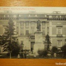 Postales: POSTAL - ESPAÑA - MADRID - 9.- PLAZA DE MURILLO Y MUSEO PINTURA - THOMAS 1221 - SIN CIRCULAR. Lote 113448043