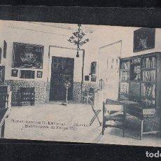 Postales: MONASTERIO DE EL ESCORIAL.- PALACIO. HABITACIONES DE FELIPE II. Lote 113612043