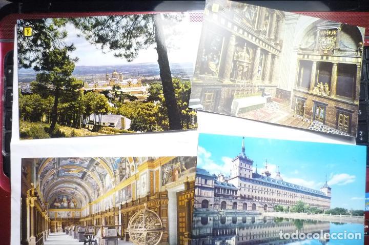 LOTE POSTALES EL ESCORIAL --CM (Postales - España - Madrid Moderna (desde 1940))
