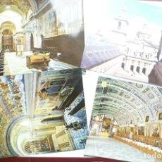 Postales: LOTE POSTALES EL ESCORIAL --CM. Lote 114062759