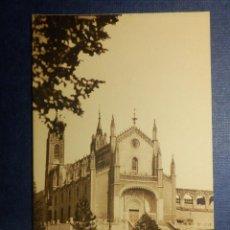 Postales: POSTAL - ESPAÑA - MADRID - ANTIGUO MONASTERIO DE LOS JERÓNIMOS - M. PALOMEQUE - SIN CIRCULAR. Lote 114148283