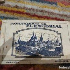 Postales: BLOCK POSTALES MONASTERIO DE EL ESCORIAL TOMÁS MORA PRIMERA SERIE BUEN ESTADO . Lote 114358171