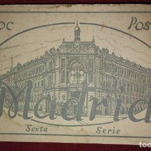 Bloc postal madrid (sexta serie) 15 postales