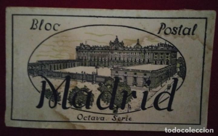 BLOC POSTAL MADRID (OCTAVA SERIE) 15 POSTALES (Postales - España - Comunidad de Madrid Antigua (hasta 1939))