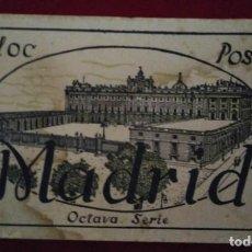 Postales: BLOC POSTAL MADRID (OCTAVA SERIE) 15 POSTALES. Lote 114434151