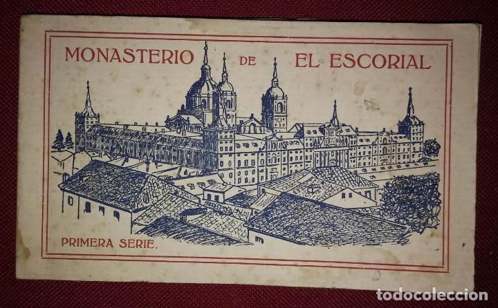 BLOC POSTAL EL ESCORIAL (PRIMERA SERIE) 20 POSTALES (Postales - España - Comunidad de Madrid Antigua (hasta 1939))