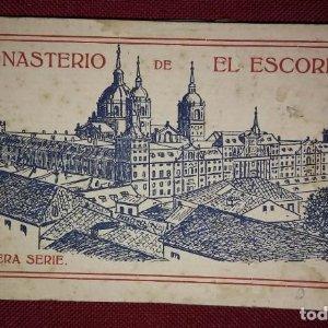Bloc postal EL ESCORIAL (primera serie) 20 postales