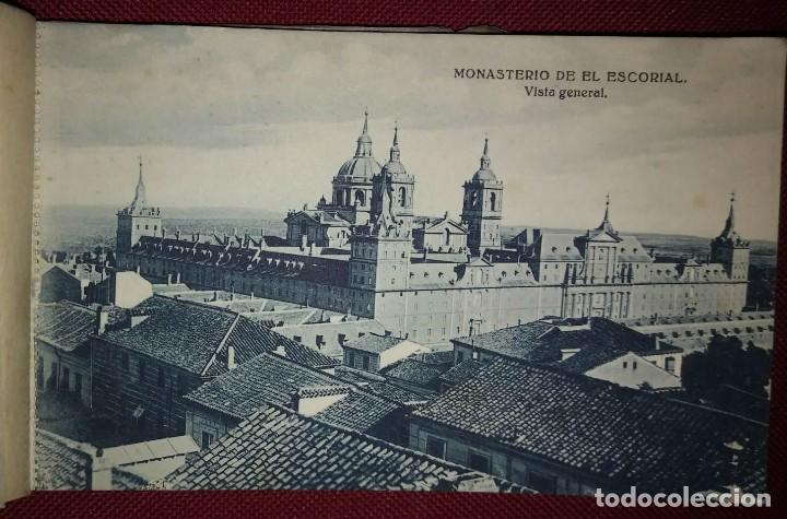 Postales: Bloc postal EL ESCORIAL (primera serie) 20 postales - Foto 2 - 114435723