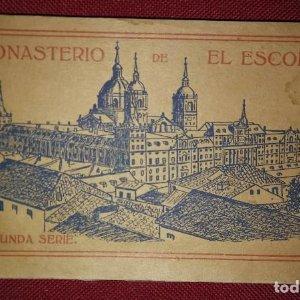 Bloc postal EL ESCORIAL (segunda serie) 20 postales