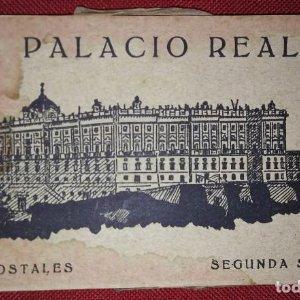 Palacio real 15 postales segunda serie