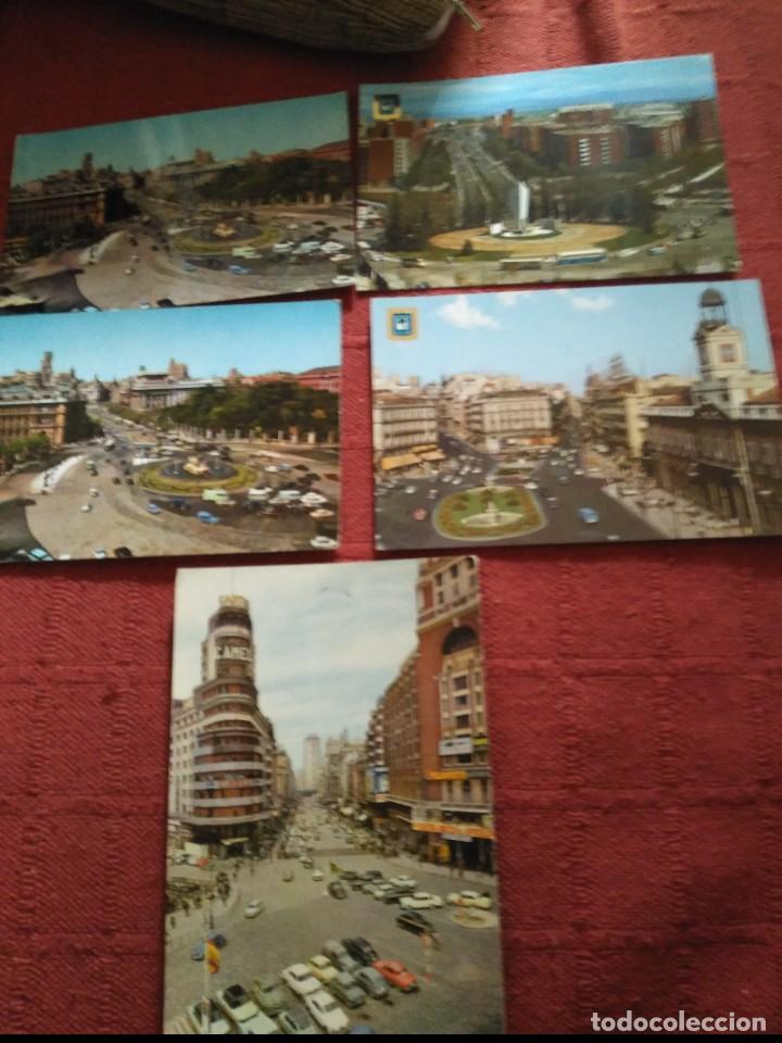 5 POSTALES MADRID AÑOS 70 ,2 CIRCULADAS (Postales - España - Madrid Moderna (desde 1940))