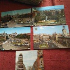 Postales: 5 POSTALES MADRID AÑOS 70 ,2 CIRCULADAS. Lote 114518875