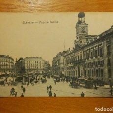 Postales: POSTAL - ESPAÑA - MADRID - PUERTA DEL SOL - J. ROIG - SIN CIRCULAR. Lote 114591691